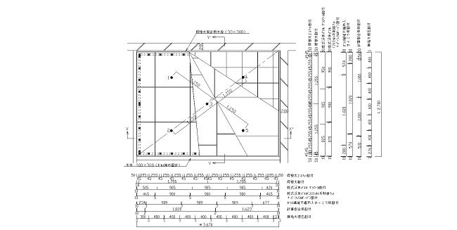 図6 試験体平面図