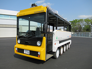 アークノハラと群馬大学が提供する自動運転自動車eCOM-10イーコム 10