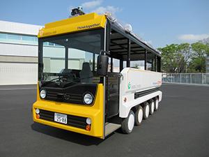 三宅島での自動運転車両を活用したモニターツアー