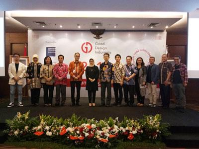 ジャカルタのインドネシア商業省アトリウムにおいて