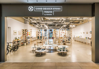 GOOD DESIGN STORE TOKYO by NOHARA