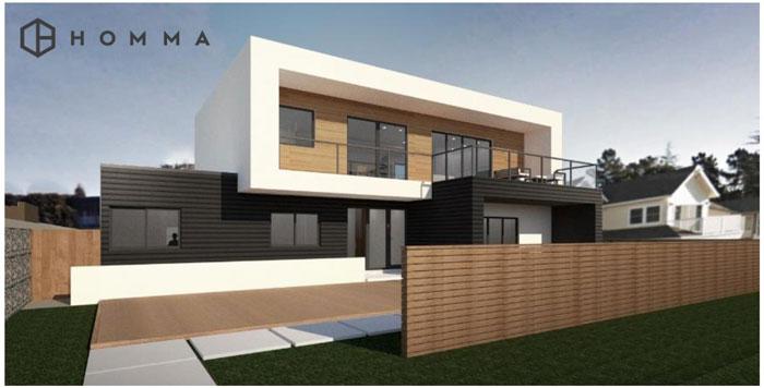 スマートでデザイン性の高い建売住宅