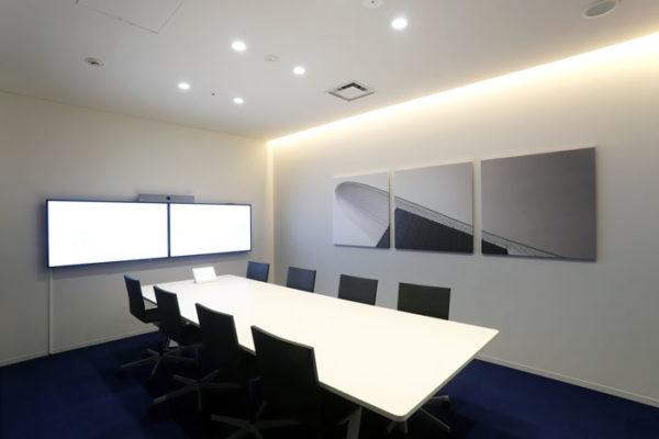 吸音パネル会議室