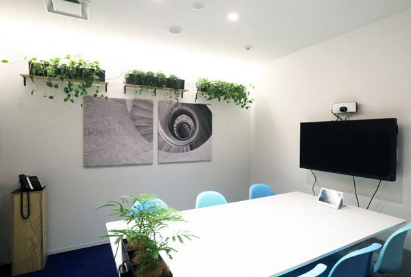吸音パネル会議室4